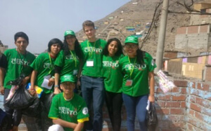 Visiting Canto Grande during the Holy Cross Youth Gathering in Peru
