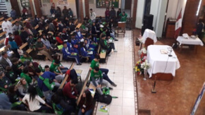 Mass during the Holy Cross Latin American Youth Gathering in Peru