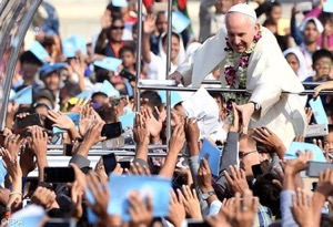 Pope Francis in Bangladesh