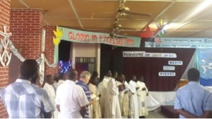 The Celebration of the Eucharist during the Haiti Province Assembly
