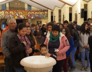 Renewal of Baptismal Promises at the Easter Vigil
