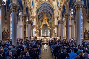 Litany of Saints at the 2018 Priestly Ordinations