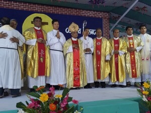 The Jubilarians and the Newly Finally Professed in Bangladesh