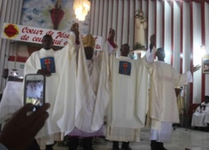 Ordinations of Ginel Pierre (Deacon), Guerlin Basile (Priest), and Luc-Franck Jean-Pierre (Priest) in 2018