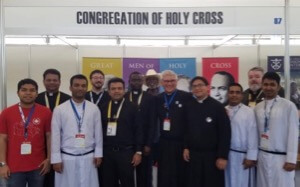 The Holy Cross Team at the WYD Vocations Fair in Panama