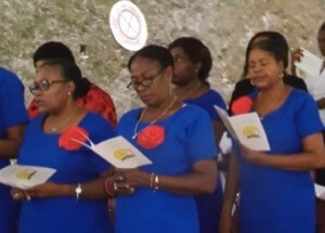 Choir for the 75th Anniversary of Holy Cross in Haiti