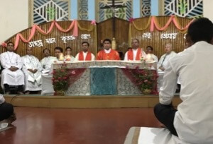 Mass of Thanksgiving with Fr Ashim Theotonius Gonsalves, CSC