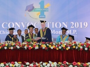 First Convocation at Notre Dame University Bangladesh in Dhaka