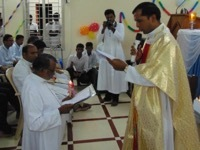 Holy Cross Brother Professes Final Vows for the Vicariate of Tamil Nadu