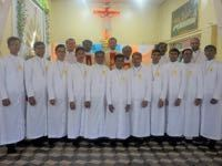 Eleven Novices Profess First Vows in India