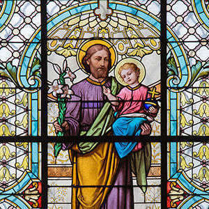 St. Joseph Stained Glass