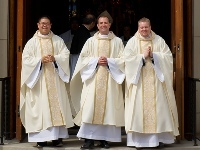 Three Priests Ordained in the United States