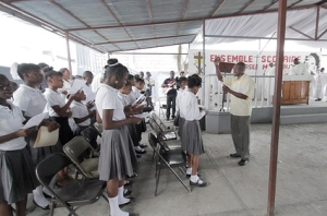 Dedication of New School in Haiti