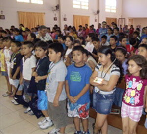 La Luz Parish in Mexico