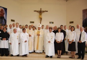 Holy Cross Family in Mexico