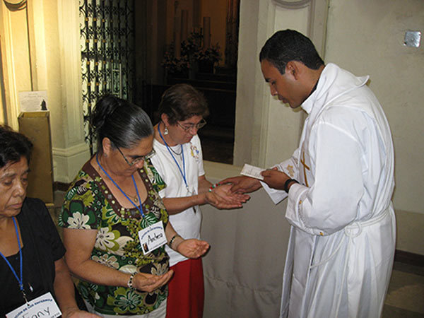 Anointing of the sick in Mexico