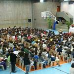 Mass at Colegio Santa Cruz in Brazil